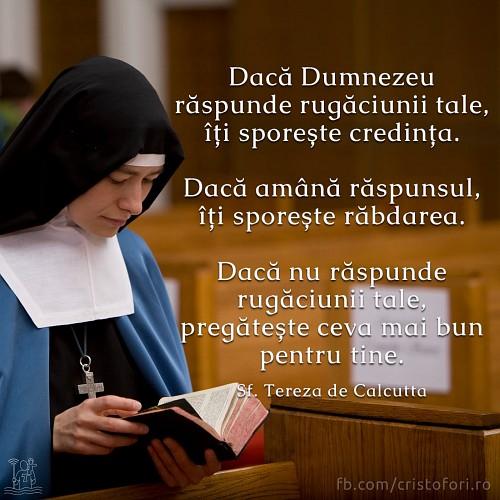 Răspunsul la rugăciune