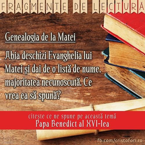 Genealogia de la Matei
