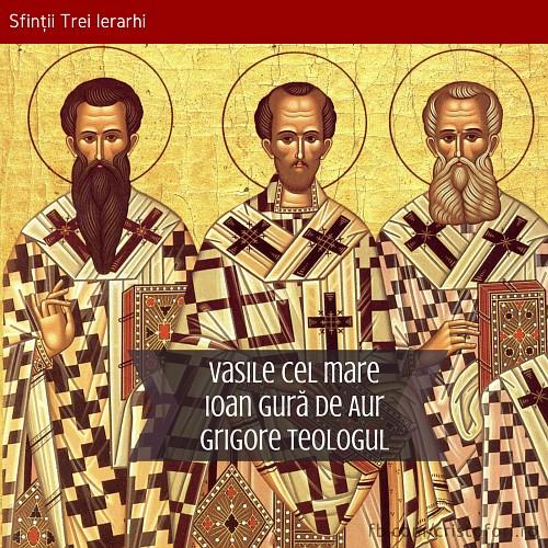 Sfinții Trei Ierarhi