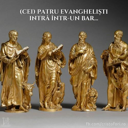 (Cei) patru evangheliști intră într-un bar…