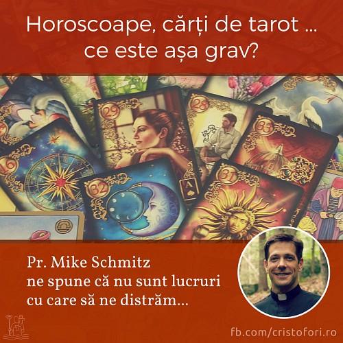 Horoscoape, cărți de tarot, table ouija. Ce este așa grav?