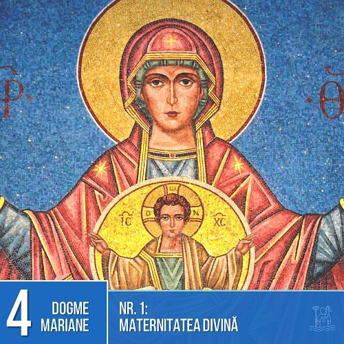 Dogme mariane: Maternitatea divină