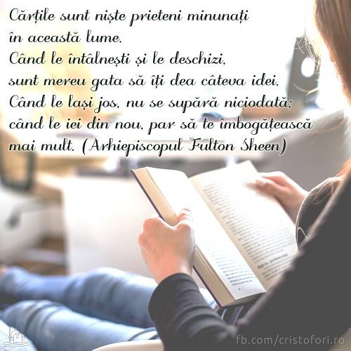 Cărțile, prieteni minunați