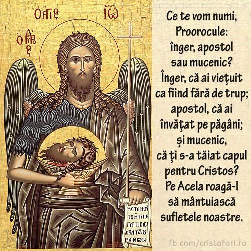 Înger, apostol sau mucenic?