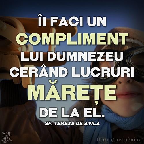 Compliment pentru Dumnezeu
