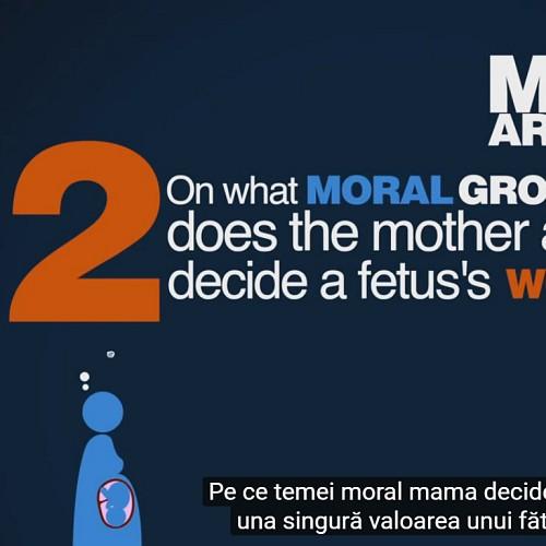 Cea mai importantă întrebare despre avort