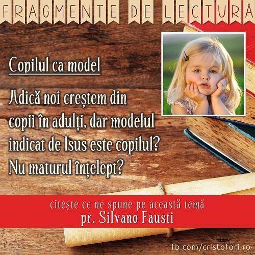 Copilul ca model