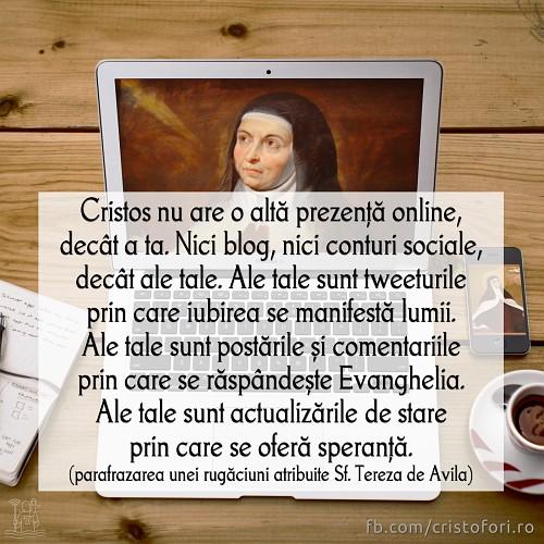 Cristos nu are o altă prezență online