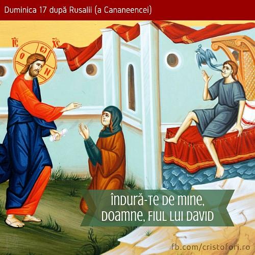 Îndură-te de mine, Doamne, Fiul lui David