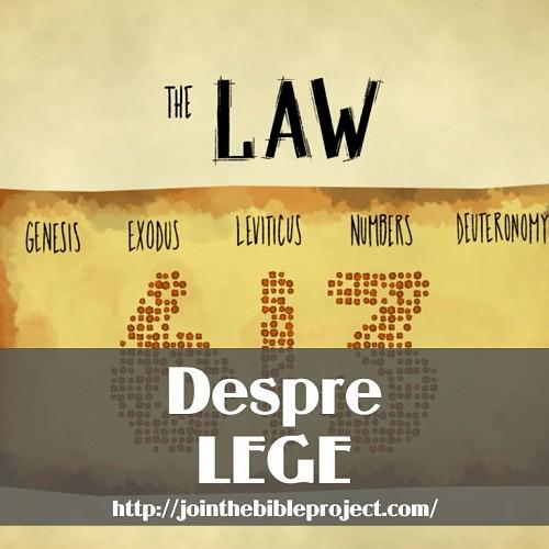 Despre Lege