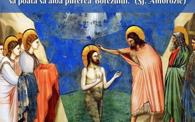 De ce s-a botezat Isus